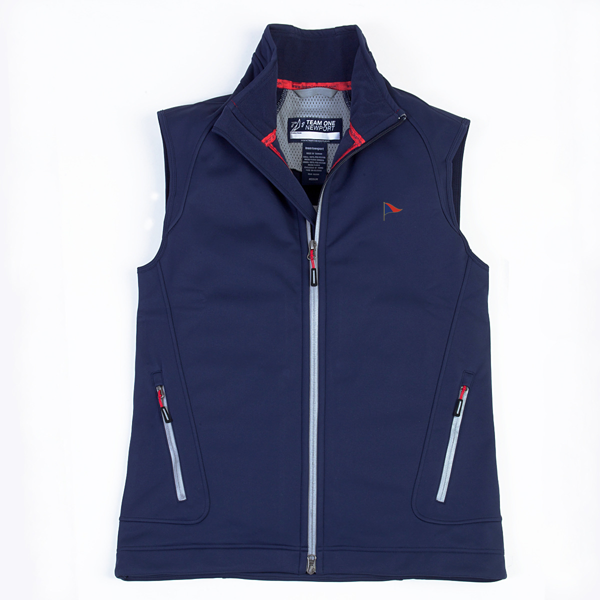 SACHEM'S HEAD YC MEN'S SOFTSHELL VEST