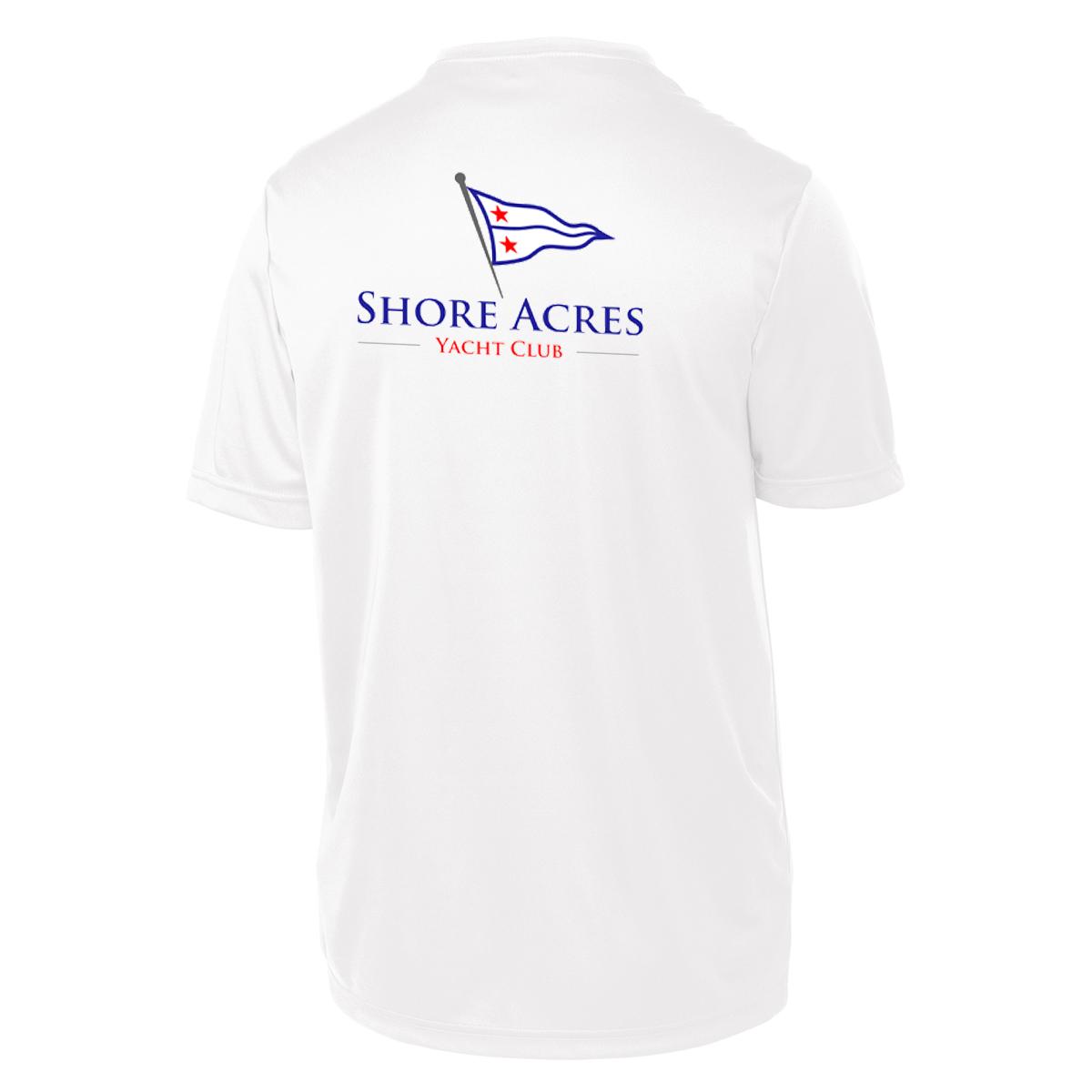 SHORE ACRES YC - Kid's S/S TECH TEE