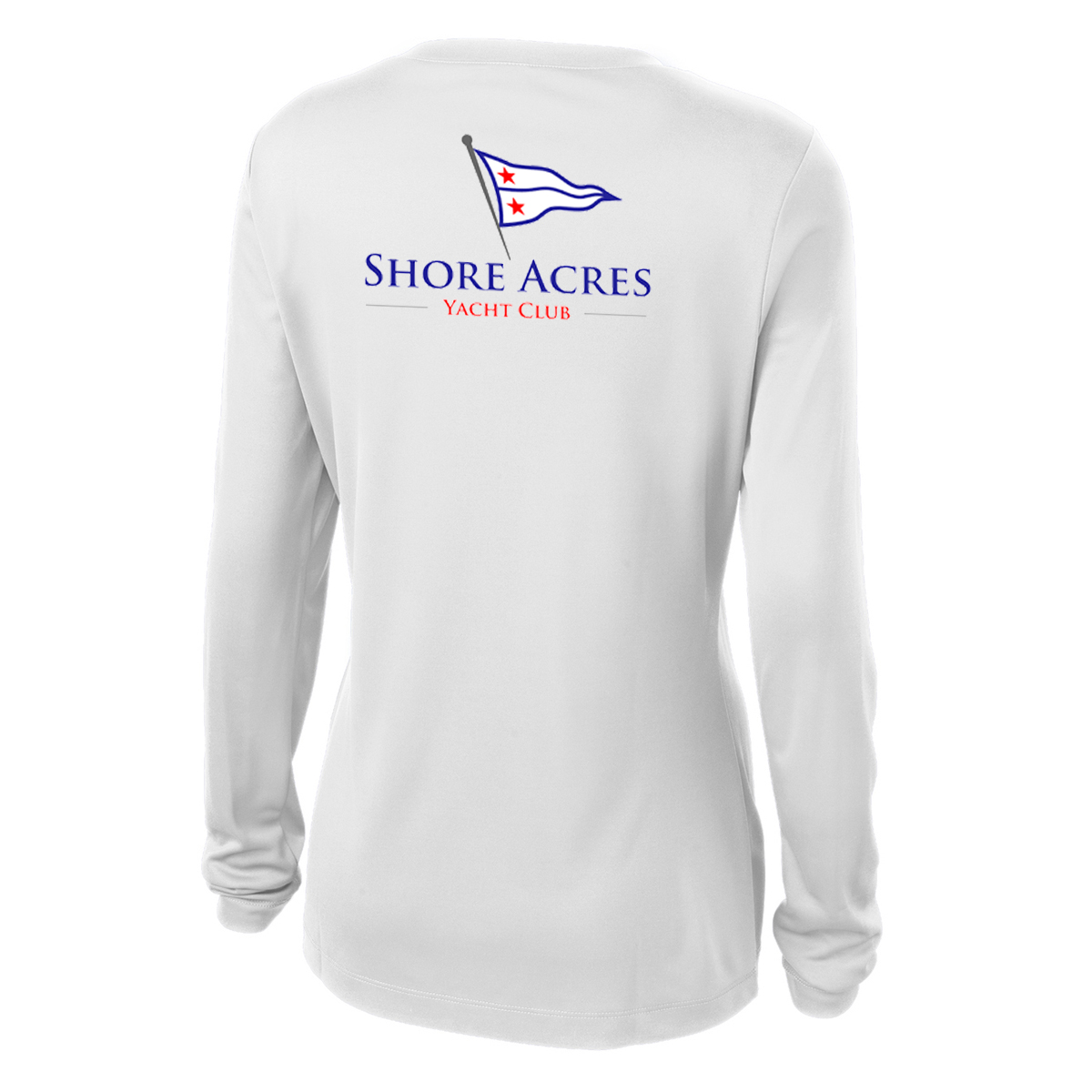 SHORE ACRES YC - W'S L/S TECH TEE