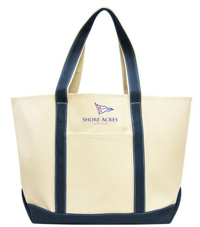 Shore Acres Yacht Club - Canvas Tote (SAYC601)