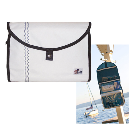 SAILOR BAGS SAILCLOTH HANGING DOPP KIT (227)