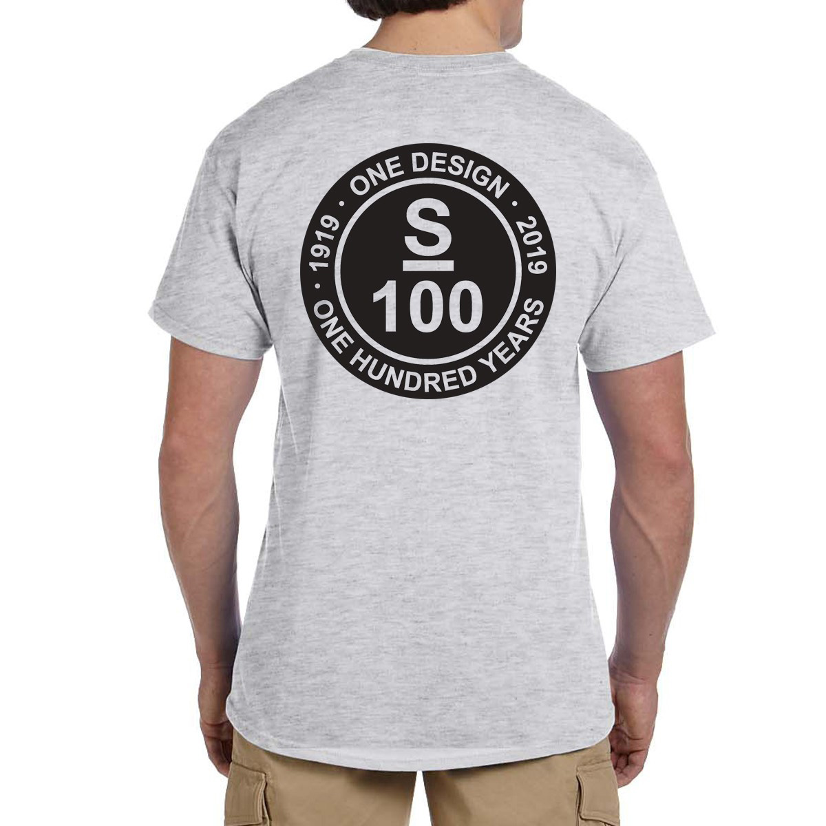 S Class Centennial 100 - Men's Cotton Tee Shirt (SCLC101)