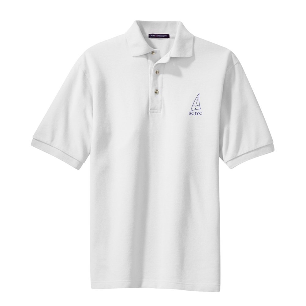 SCYC-M'S COTTON PIQUE POLO