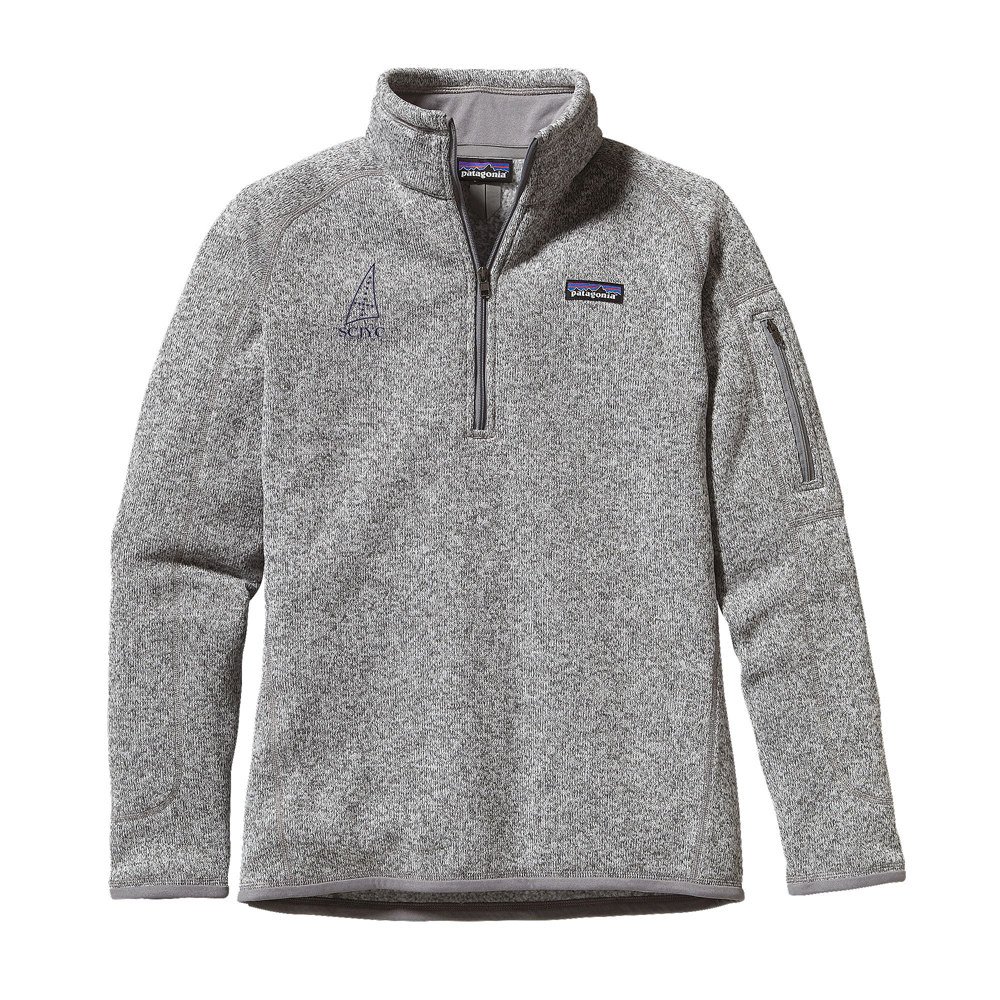 SCJYC- W'S PATAGONIA BETTER SWEATER 1/4 ZIP