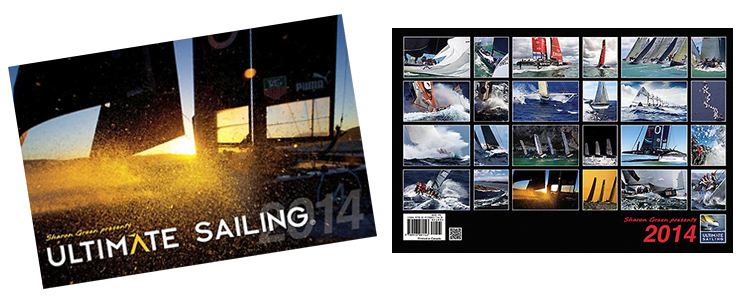 ULTIMATE SAILING CALENDER BY SHARON GREEN