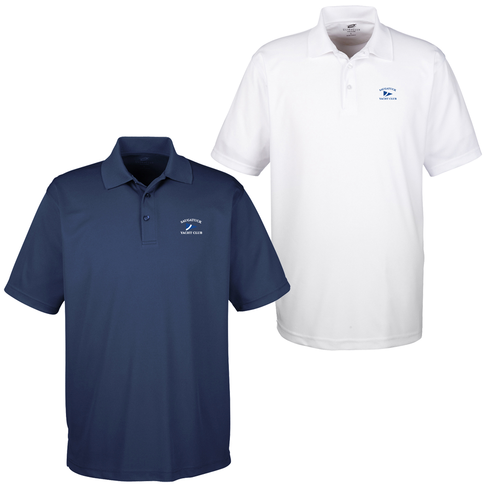 SAUGATUCK YACHT CLUB Men's S/S TECHNICAL POLO