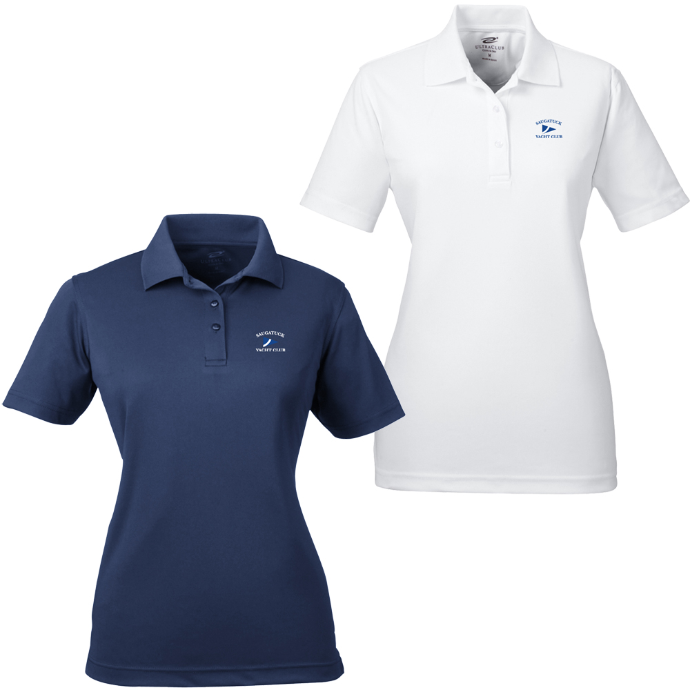 SAUGATUCK YACHT CLUB W'S TECHNICAL POLO