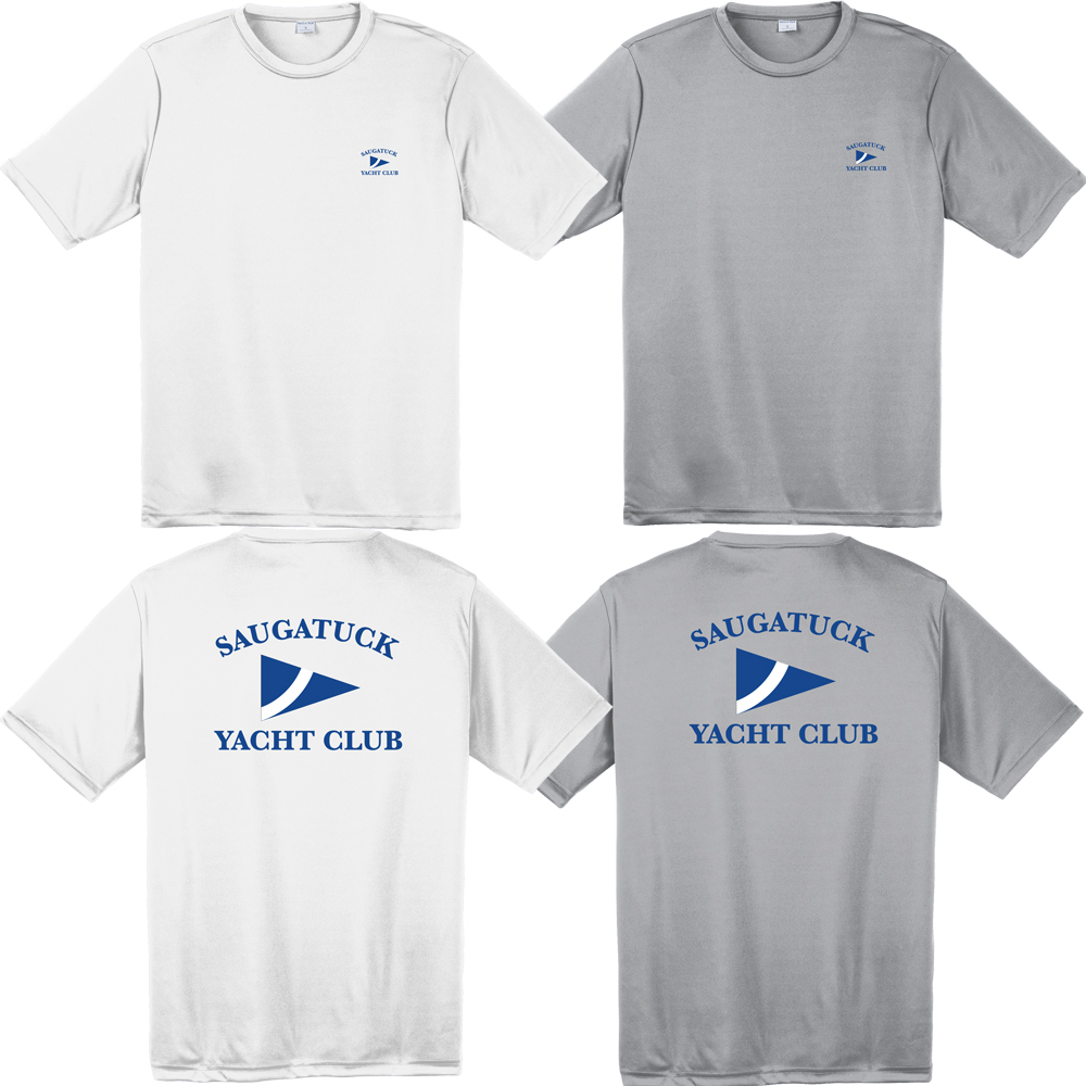 SAUGATUCK YACHT CLUB M'S S/S TECH TEE