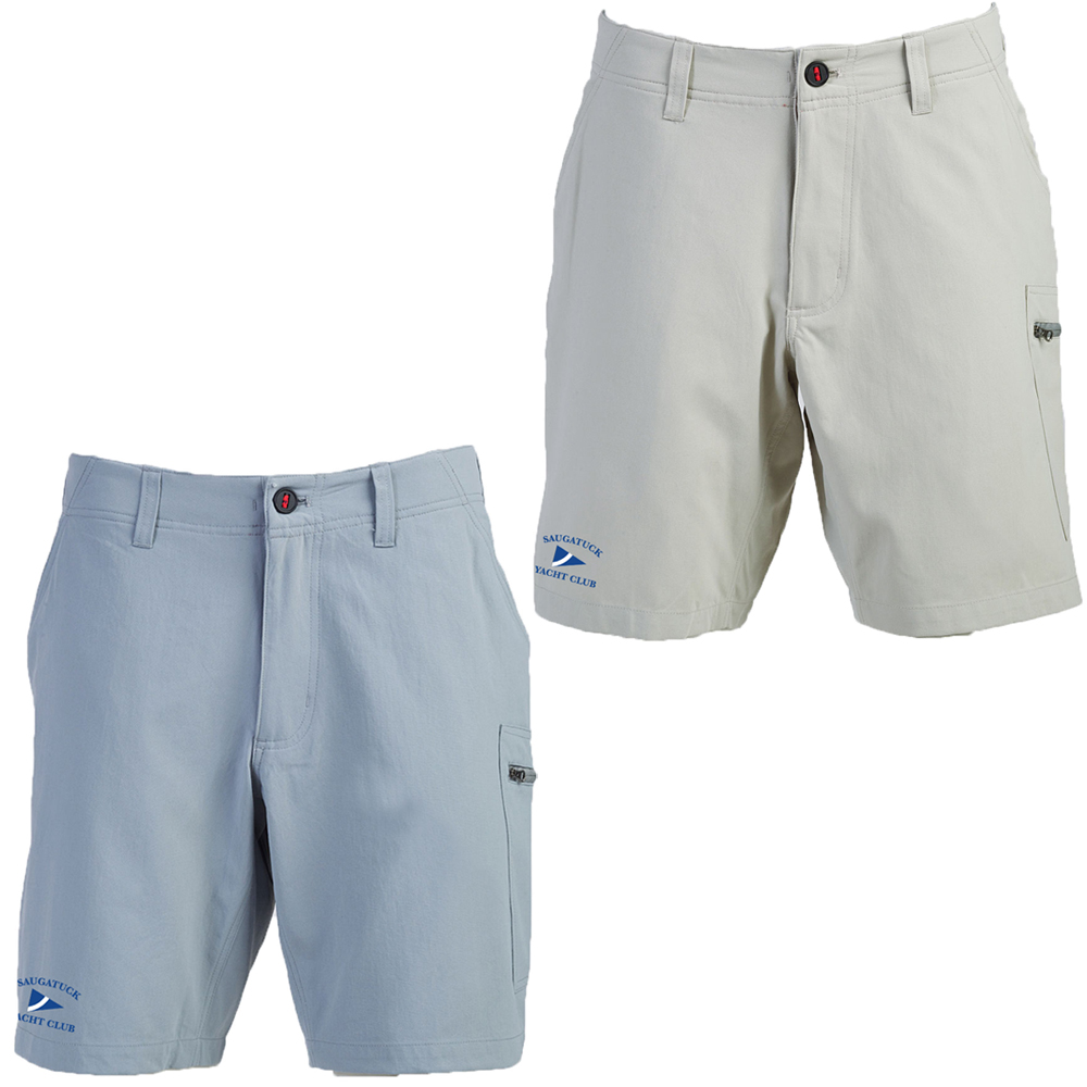 SAUGATUCK YACHT CLUB Men's SCRAMBLER SHORTS