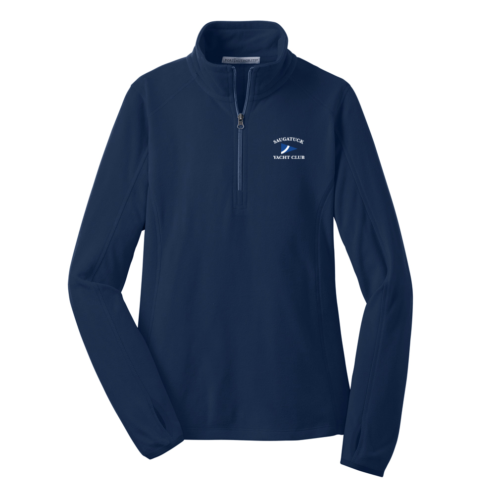 SAUGATUCK YACHT CLUB W'S FLEECE PULLOVER