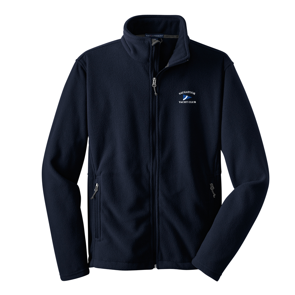 SAUGATUCK YACHT CLUB K'S FLEECE FULL ZIP JKT