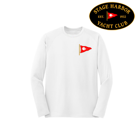 Stage Harbor Yacht Club - Youth Long Sleeve Tech Tee