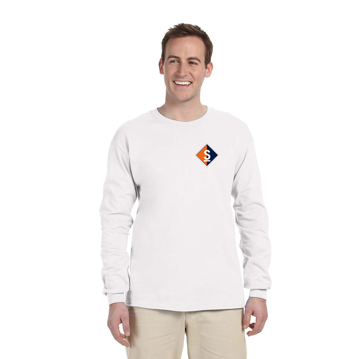 SAIL MAINE - Men's L/S TECH TEE
