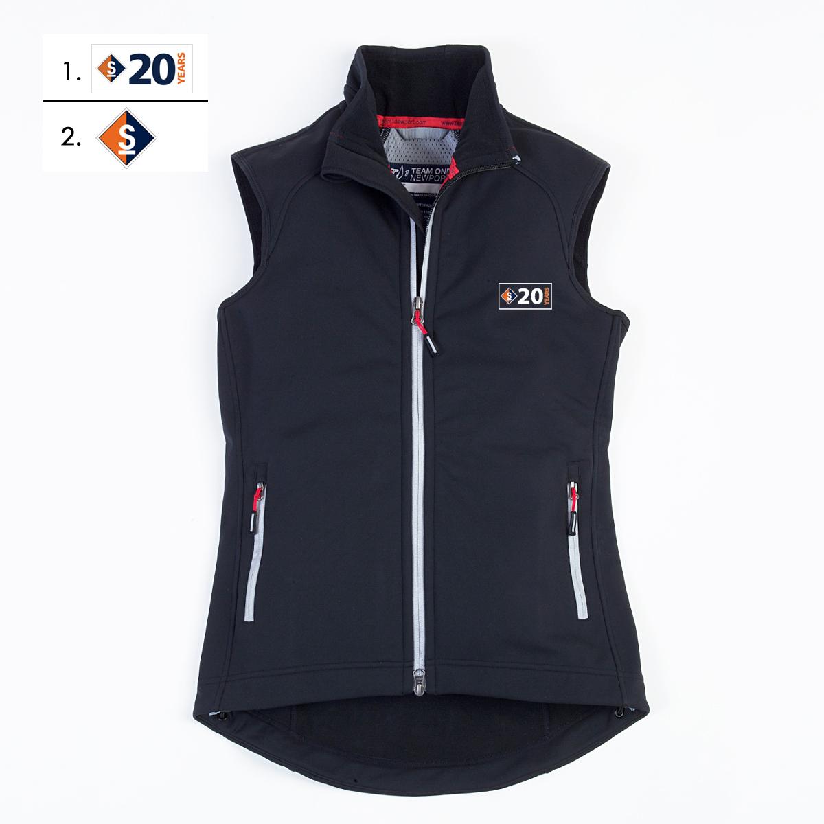 Sail Maine - Women's Scramber Softshell Vest (SME604)