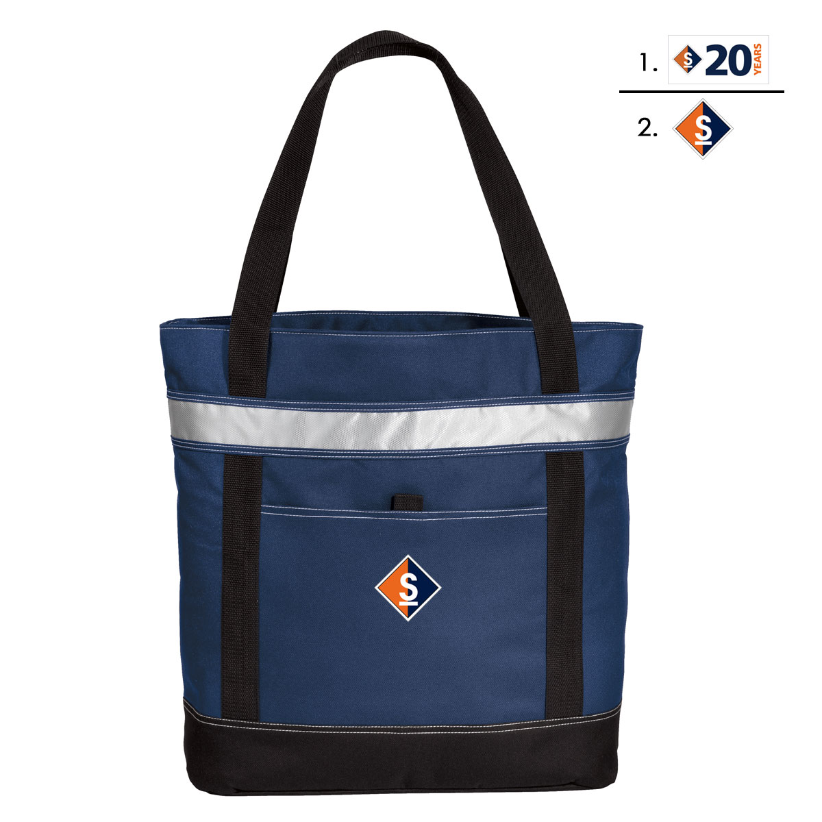 Sail Maine - Insulated Cooler Tote (SME702)