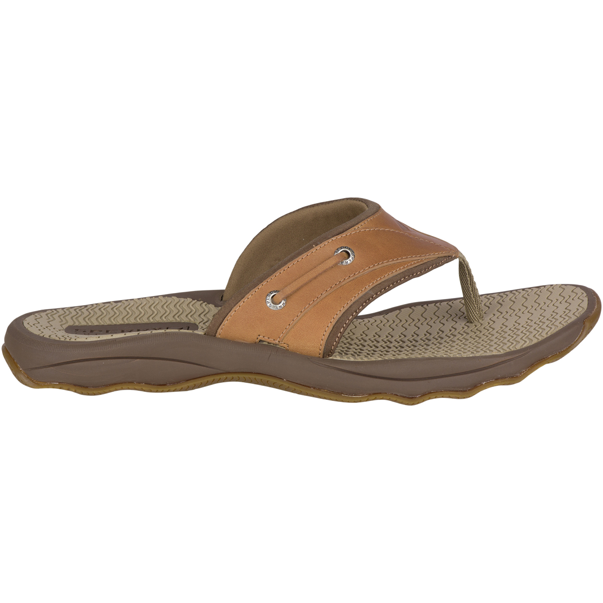 Sperry Outer Banks Thong - Tan (STS18177)