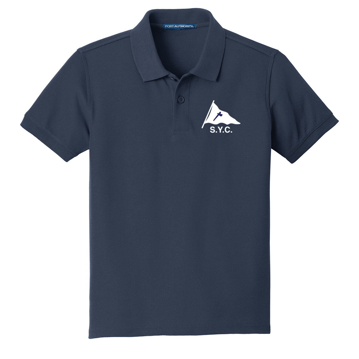 SQUANTUM YACHT CLUB - KID'S COTTON POLO