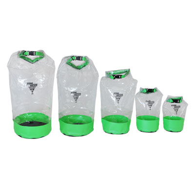 SEATTLE SPORTS GLACIER CLEAR DRY BAG 10 LT LIME