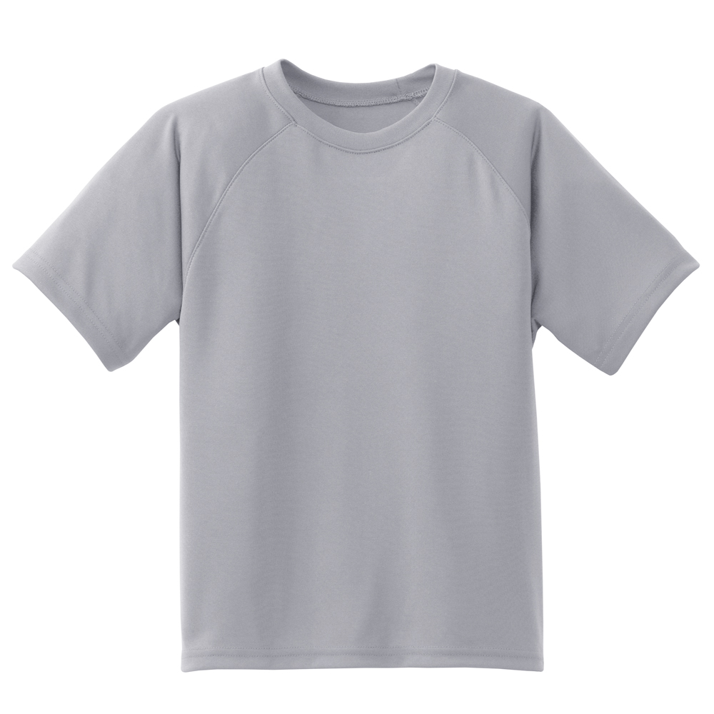 SPORTTEK YOUTH DRY ZONE RAGLAN TEE (Y473)