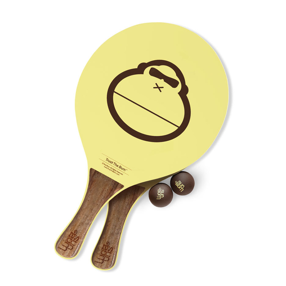 SUN BUM BEACH PADDLEBALL SET (30050)