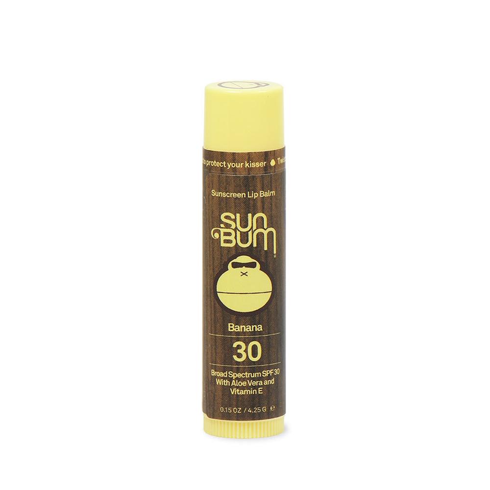 SUN BUM SPF30 BANANA LIP BALM (45095)