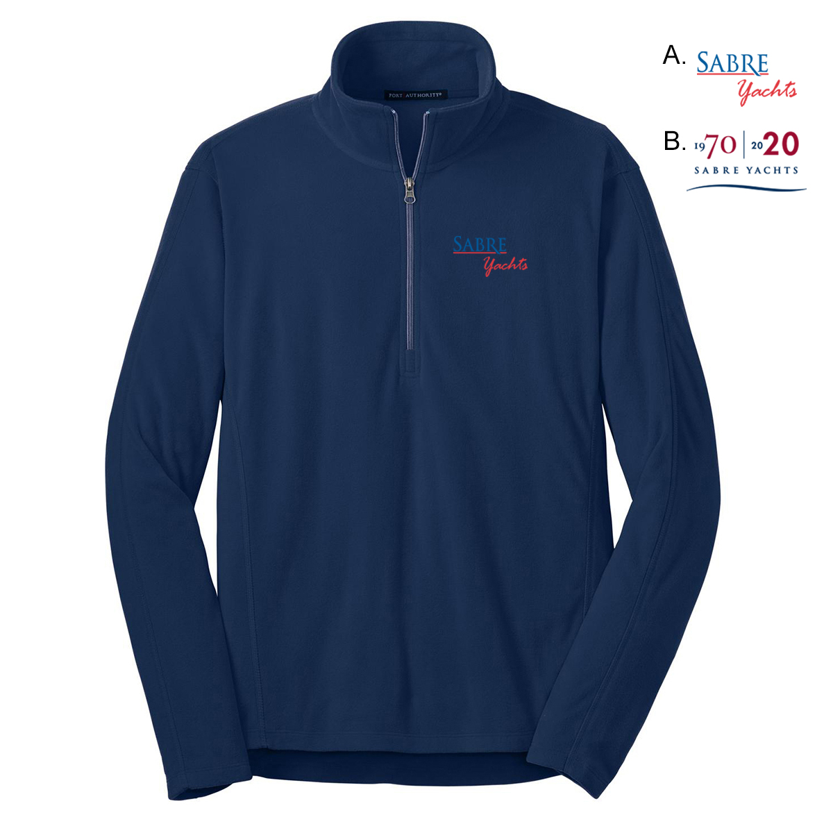 Sabre Yachts - Men's Micro Fleece 1/4 Zip