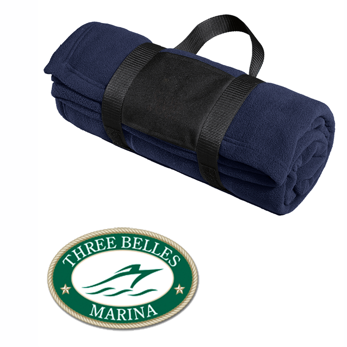 Three Belles Marina - Fleece Blanket (TBM702)