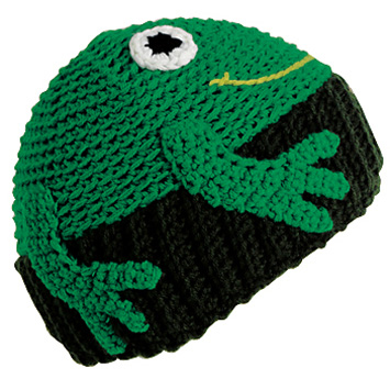 TURTLE FUR KIDS FROGGY HAT (495855)
