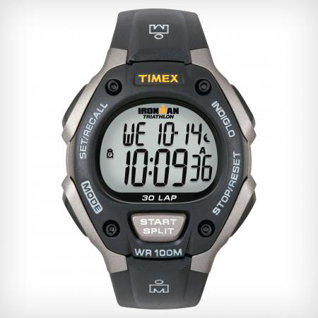 TIMEX IRONMAN 30 LP GREY BLACK (T5E9019J)