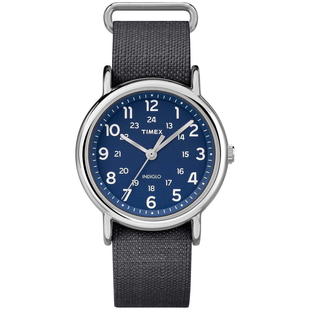 TIMEX WEEKENDER RIP-STOP - GREY/BLUE (TW2P657009J)