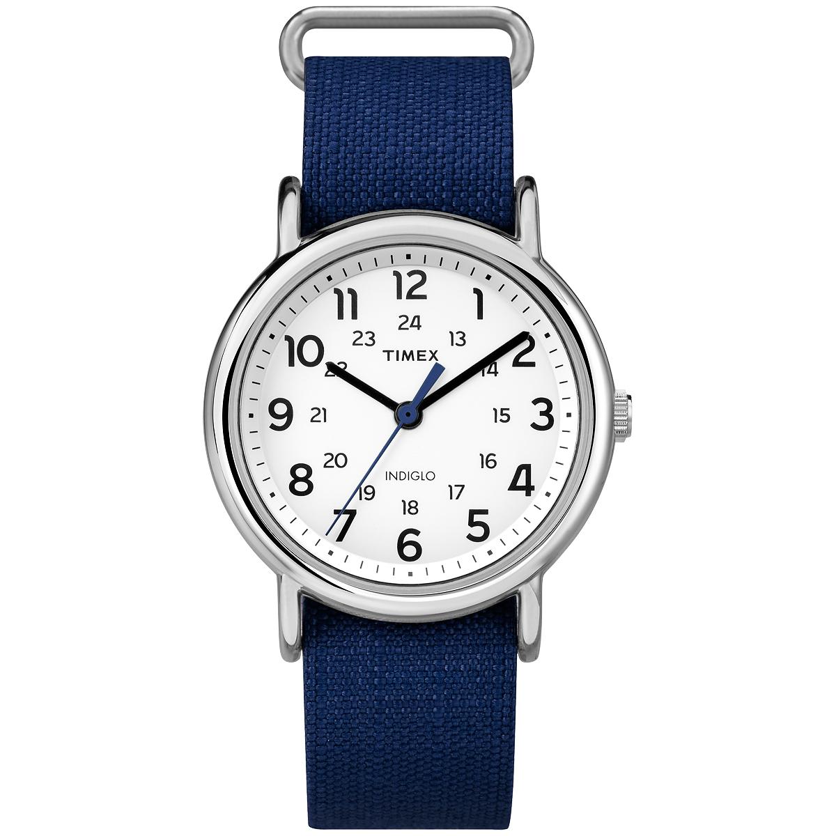 TIMEX WEEKENDER RIP-STOP - NAVY (TW2P658009J)