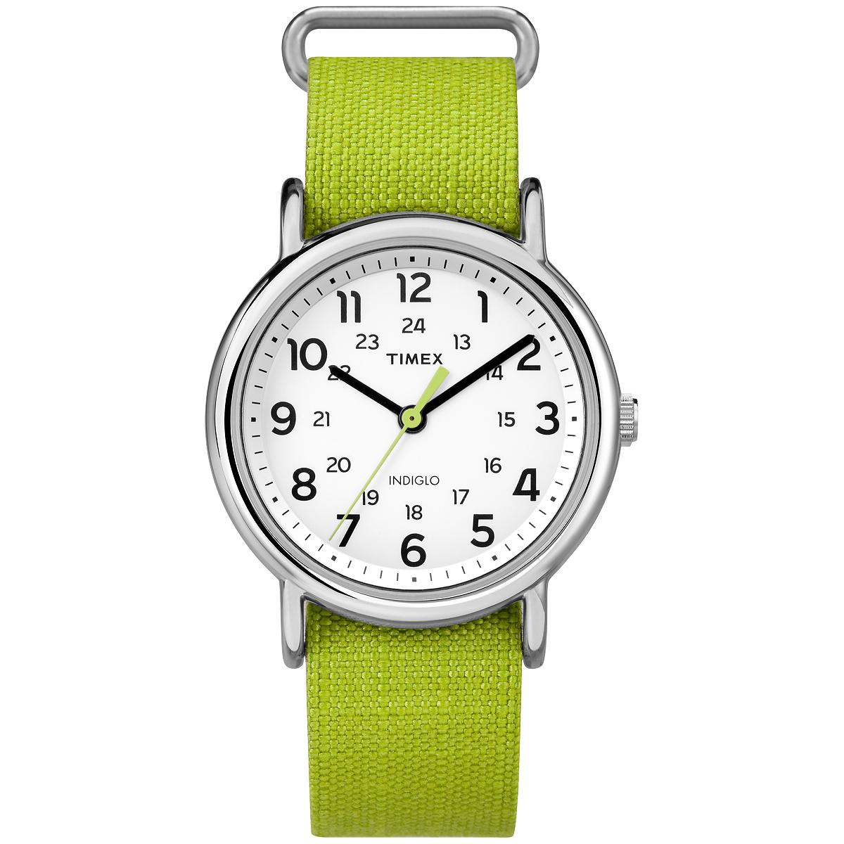 TIMEX WEEKENDER RIP-STOP - LIME (TW2P659009J)