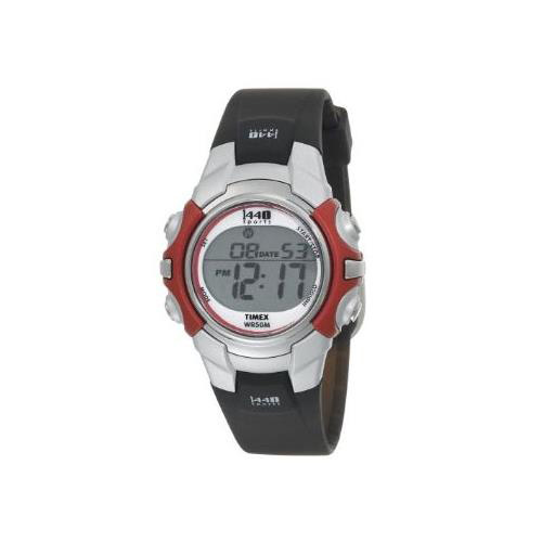 TIMEX 1440 SPORTS DIGITAL SILVER TONE BLACK (T5G841)