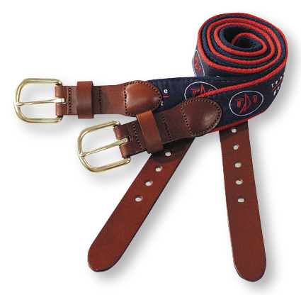 TEAM ONE LEATHER TAB BELT (TONB126)