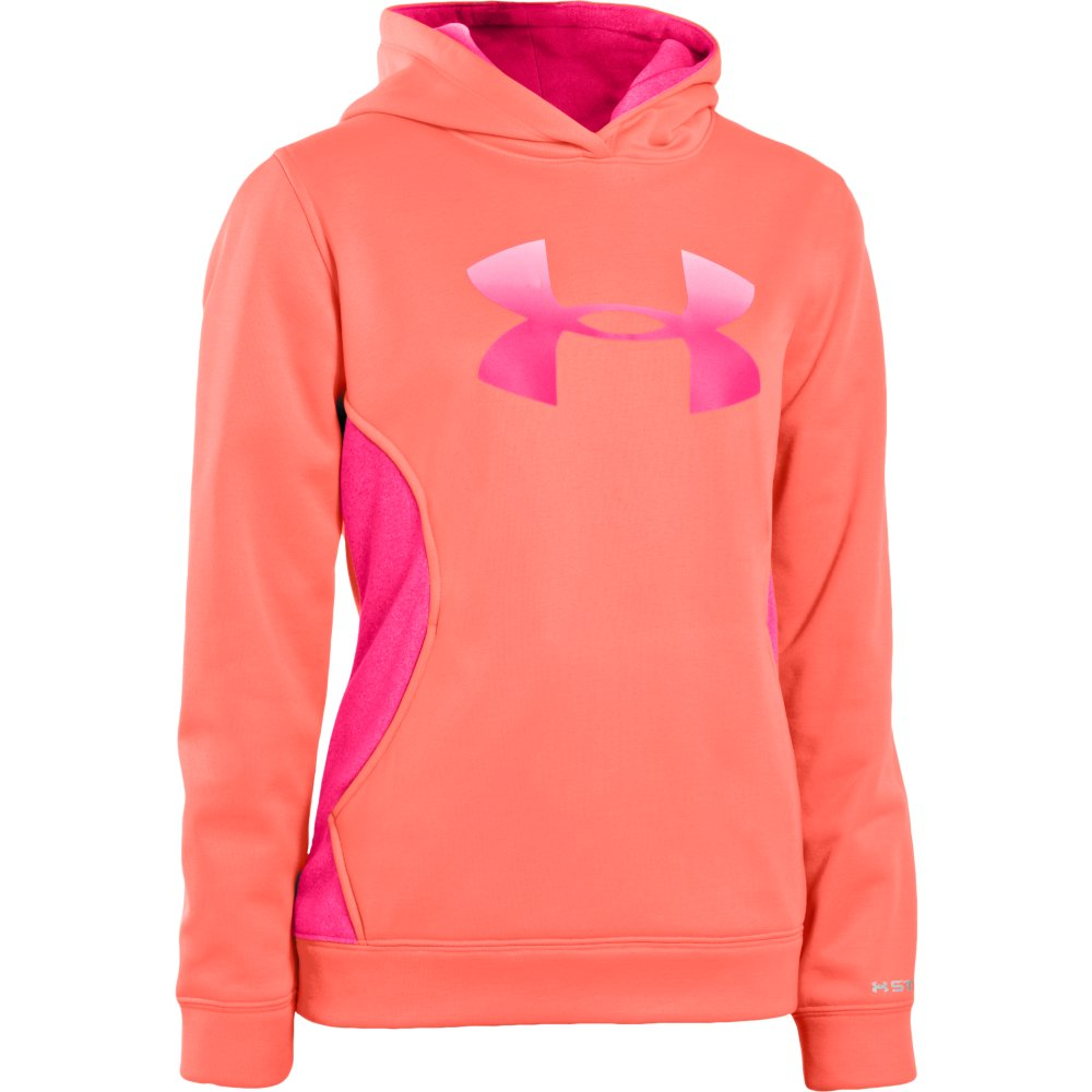 UNDER ARMOUR GIRLS STORM BIG LOGO HOODY (1239166)