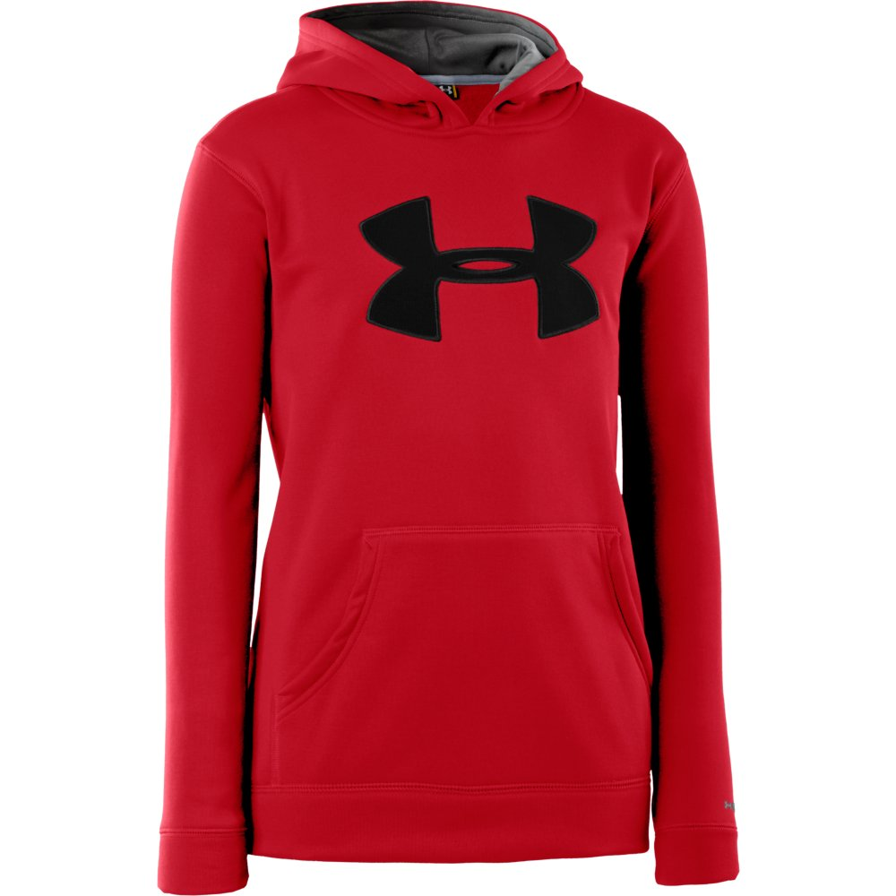 UNDER ARMOUR BOYS STORM BIG LOGO HOODY (1240249)