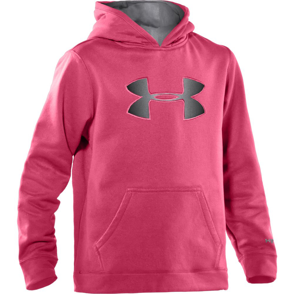 UNDER ARMOUR GIRLS UA BIG LOGO HOODY (1232174)