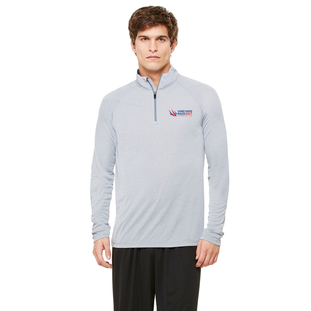 VINEYARD RACE M'S 1/4 ZIP TECH P/O