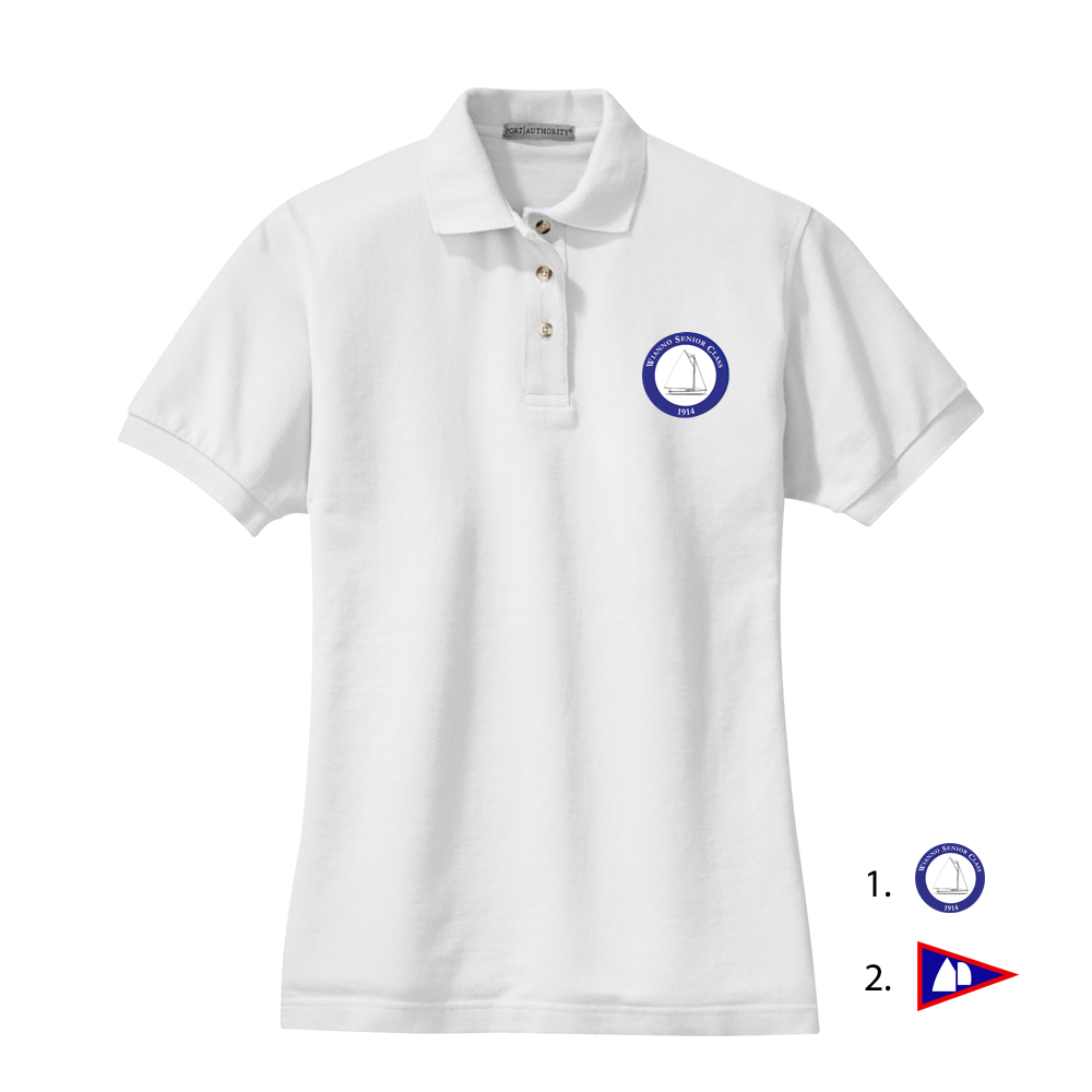 WIANNO SENIOR - W'S COTTON POLO