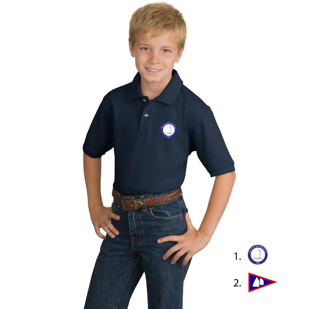 WIANNO SENIOR- Kid's COTTON POLO