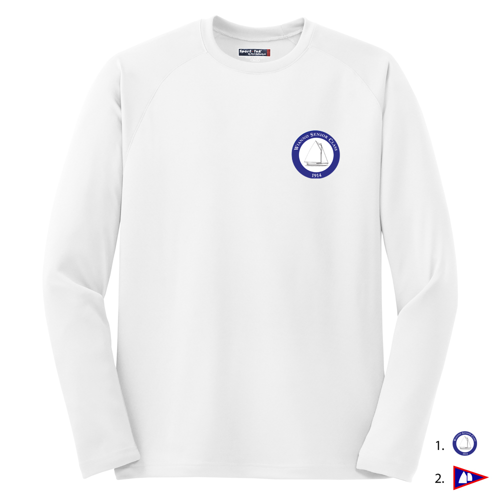 WIANNO SENIOR MEN'S TECH TEE L/S