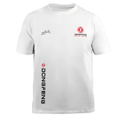 ZHIK DONGFENG RACE TEAM - KIDS COTTON TEE (MTE-0721-K-WHT)