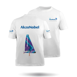 TEAM AKZONOBEL - KIDS COTTON TEE (MTE-0725-K-WHT)
