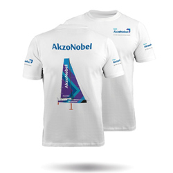 ZHIK TEAM AKZONOBEL - MENS COTTON TEE (MTE-0725-M-WHT)