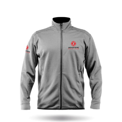 ZHIK DONGFENG RACE TEAM - MENS PURRSHA FLEECE JACKET (JKT-5021-M-ASH)