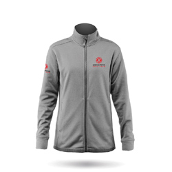 ZHIK DONGFENG RACE TEAM - WOMENS PURRSHA FLEECE JACKET (JKT-5021-W-ASH)