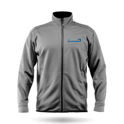 ZHIK TEAM AKZONOBEL - MENS PURRSHA FLEECE JACKET (JK-50-M-AKZO-MERCH-ASH)