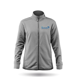 ZHIK TEAM AKZONOBEL - WOMENS PURRSHA FLEECE JACKET (JK-50-W-AKZO-MERC-ASH)