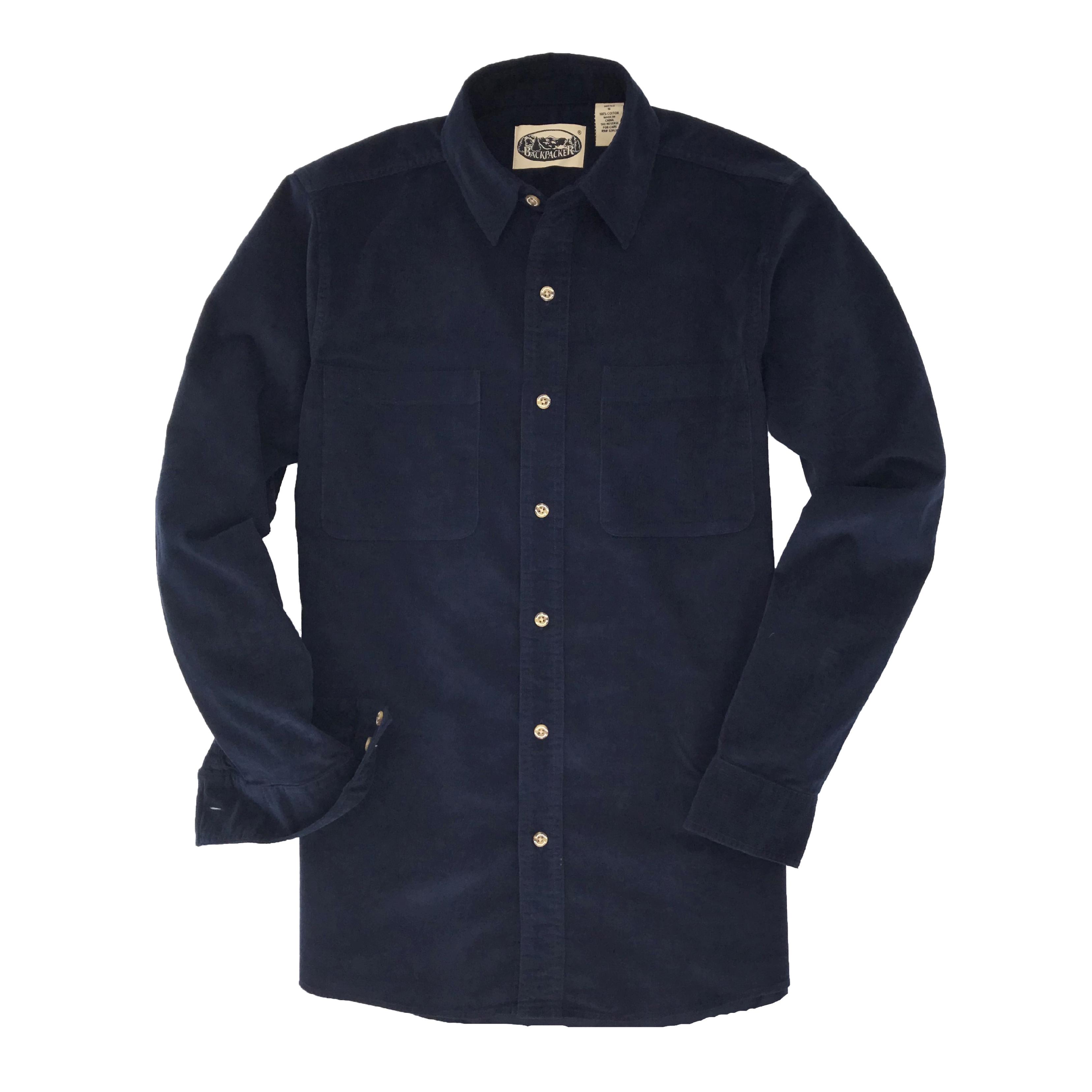 Backpacker Men's Cliff Walk Corduroy Shirt (9155)