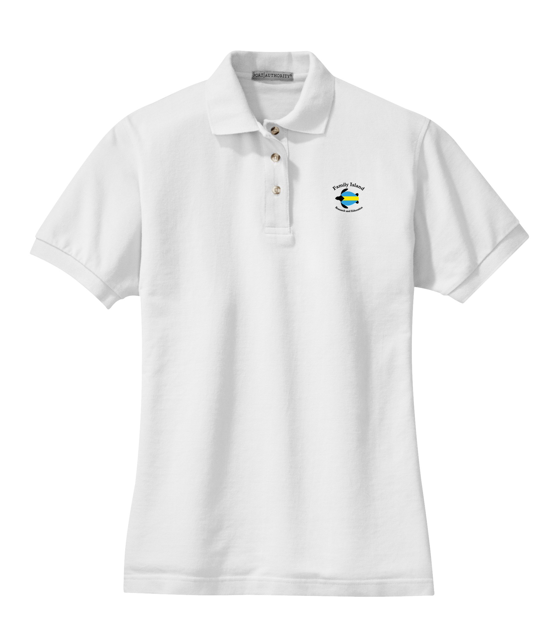 BAHAMAS SEA TURTLE RESEARCH WOMEN'S COTTON POLO